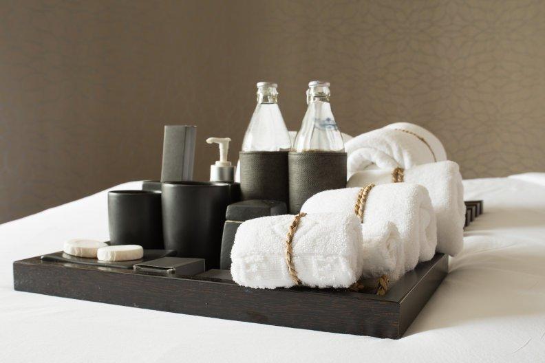 Badezimmerartikel aus dem Hotel mitnehmen