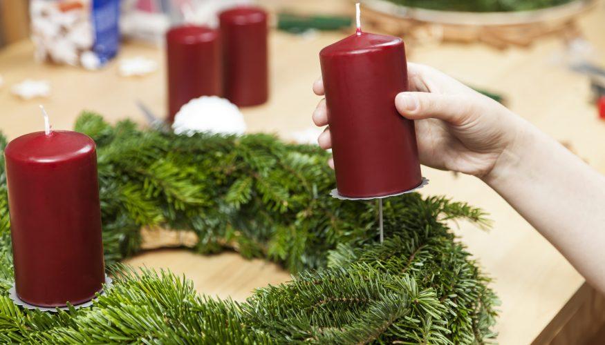 Adventskranz selber machen – Schritt für Schritt Anleitung