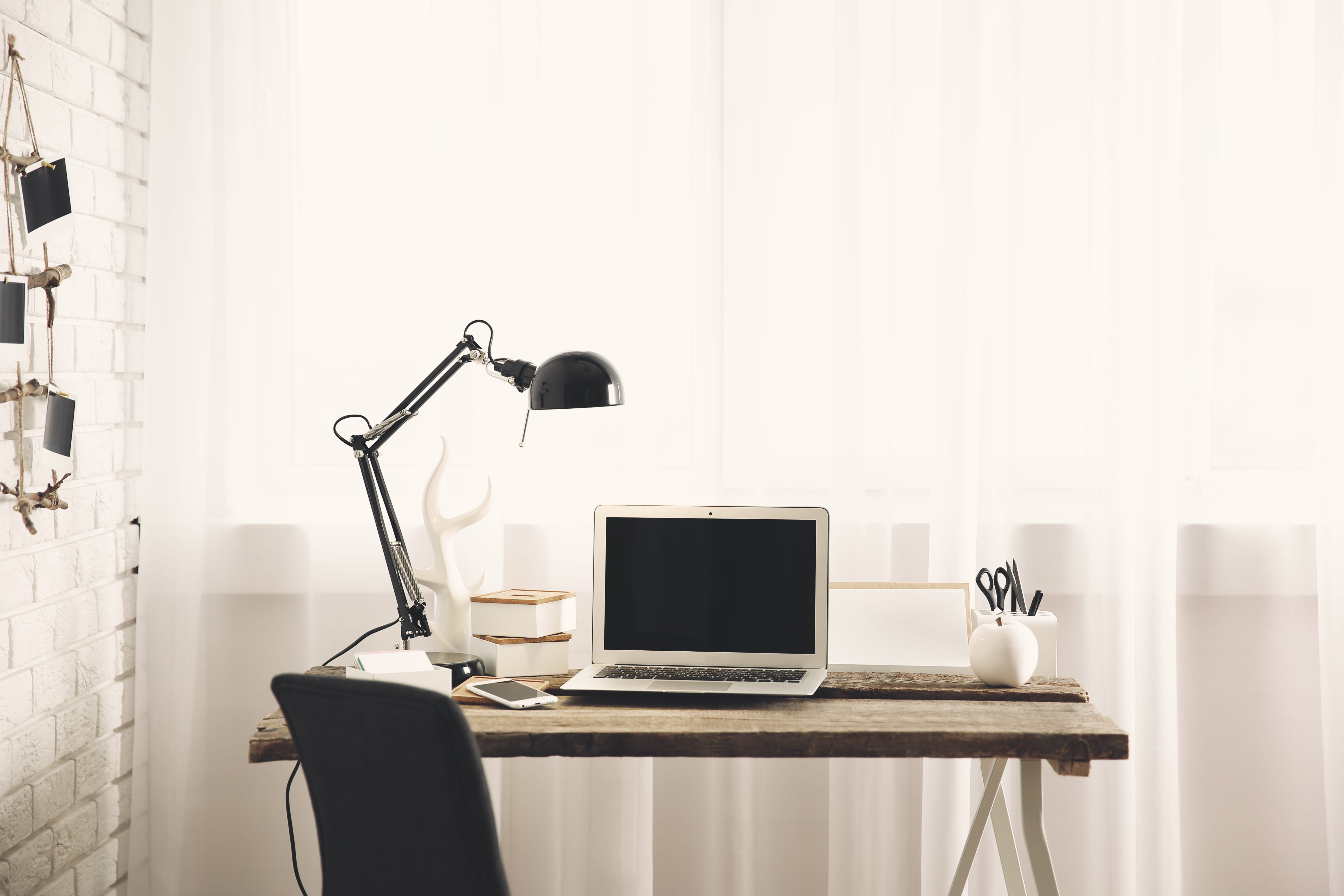 beleuchtung im arbeitszimmer 3 tipps die verraten worauf es ankommt. Black Bedroom Furniture Sets. Home Design Ideas