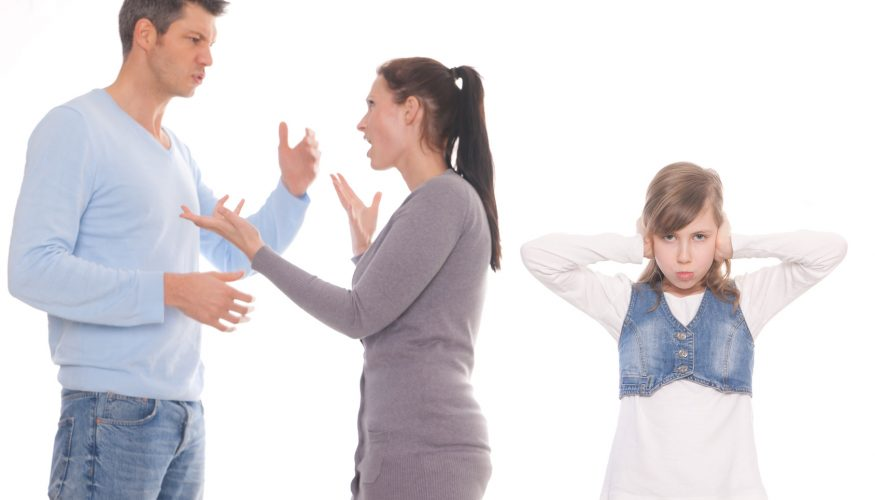 Wenn Eltern sich streiten
