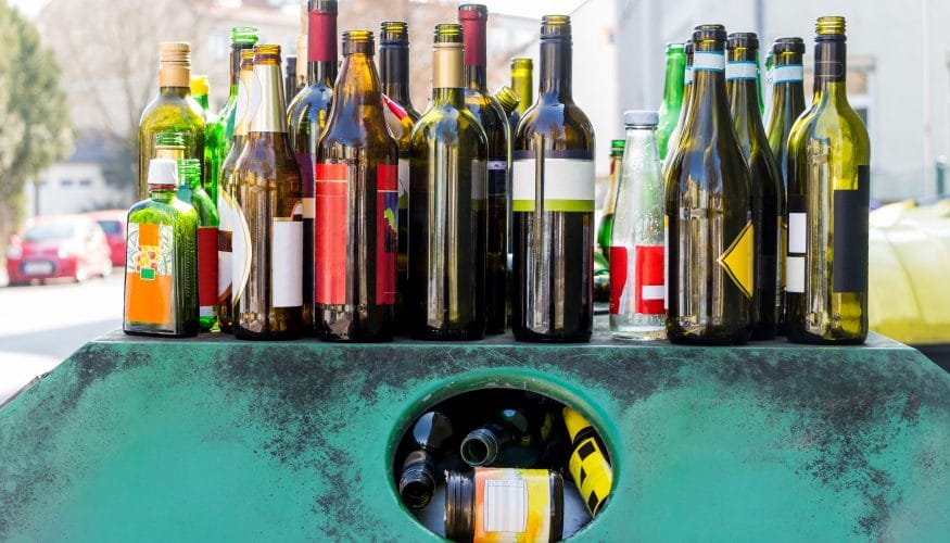 Glas entsorgen – So wird's gemacht