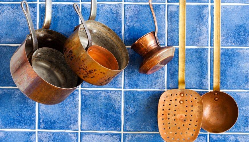 Kupfer reinigen – 6 Tipps