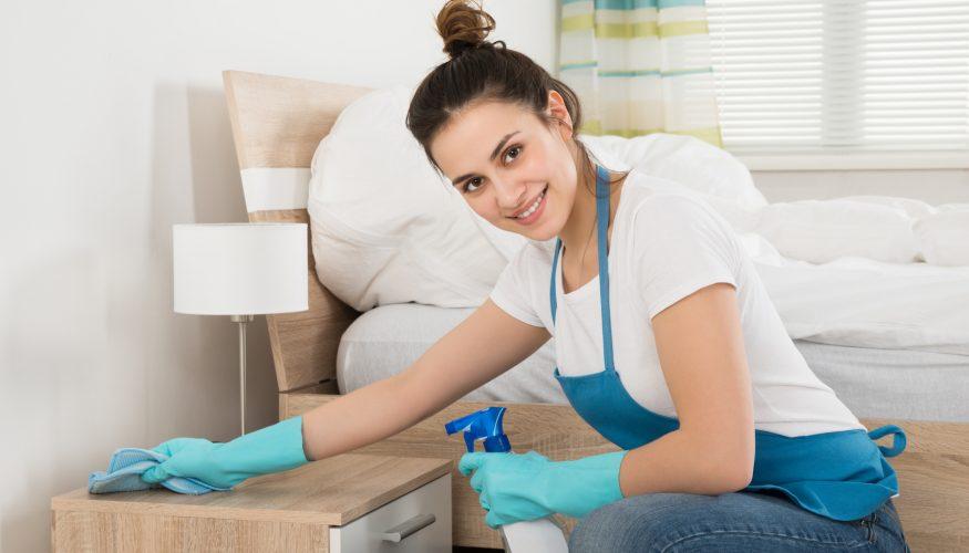 Schlafzimmer putzen – So wird's gemacht