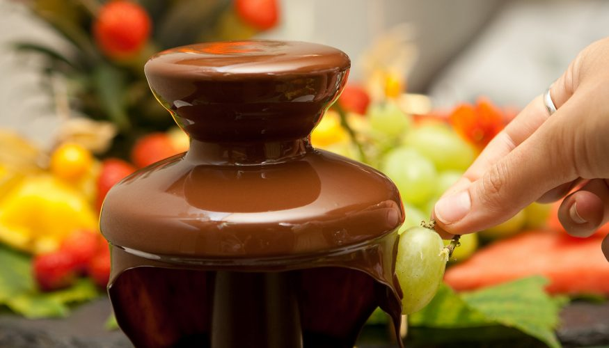 Schokoladenbrunnen vorbereiten – Schritt für Schritt Anleitung