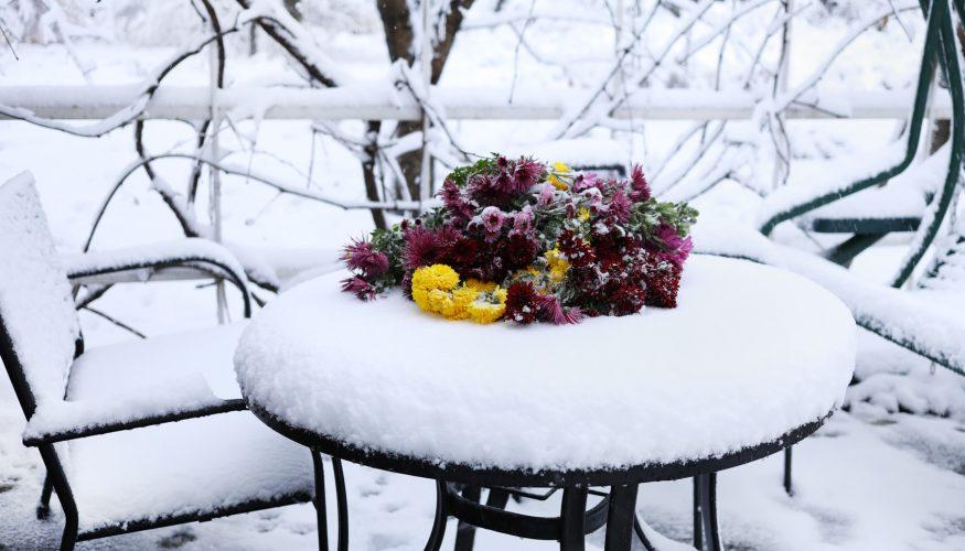 Terrasse im Winter nutzen – So geht's!