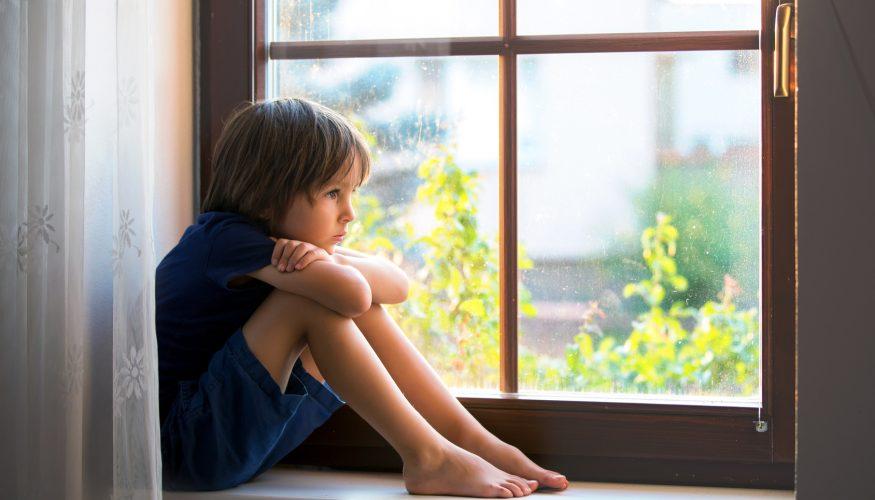 Wenn Kinder unglücklich sind