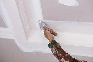 W nde streichen schritt f r schritt anleitung - Wand gerade spachteln ...