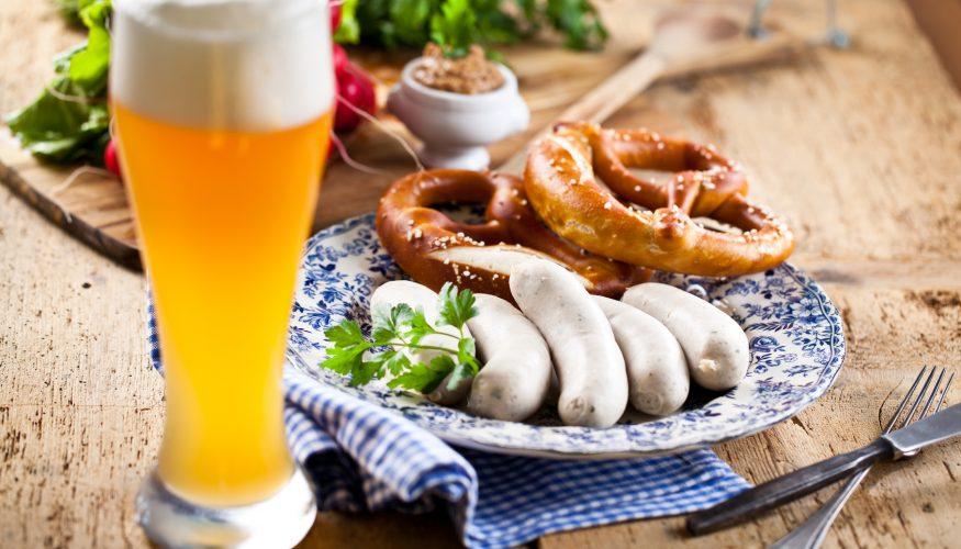 Weißwurst essen – 2 Varianten
