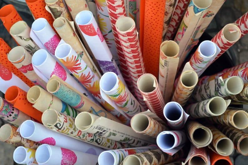 Geschenkpapier – 5 Spartipps