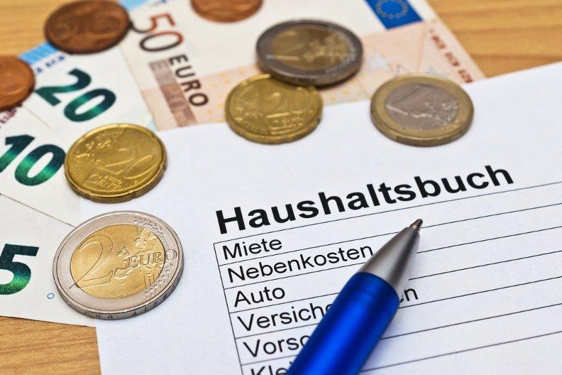 Geld sparen mit dem Haushaltsbuch