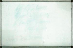 Verschmutztes Whiteboard