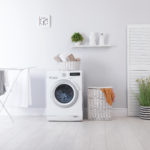 waschmaschine mit wäscheständer
