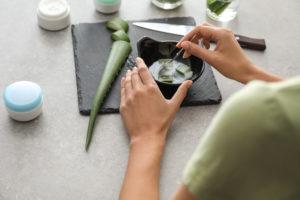 Aloe-Vera-Gel schnell und leicht selbst gemacht