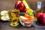 Apfelessig zum Abnehmen und Äpfel