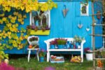 Garten mit vielen DIY Ideen