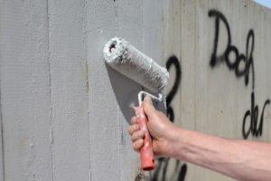 Graffitti überstreichen