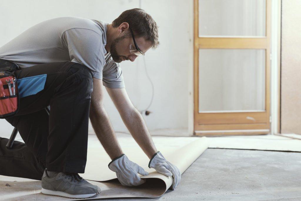 Hervorragend Linoleum verlegen: Anleitung und Tipps zum Boden verlegen ZT03