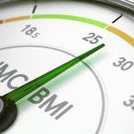 Anzeige eines BMI-Rechners