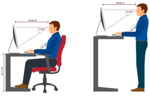 arbeitsplatz ergonomisch