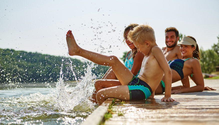 18 Baderegeln für sicheres Baden