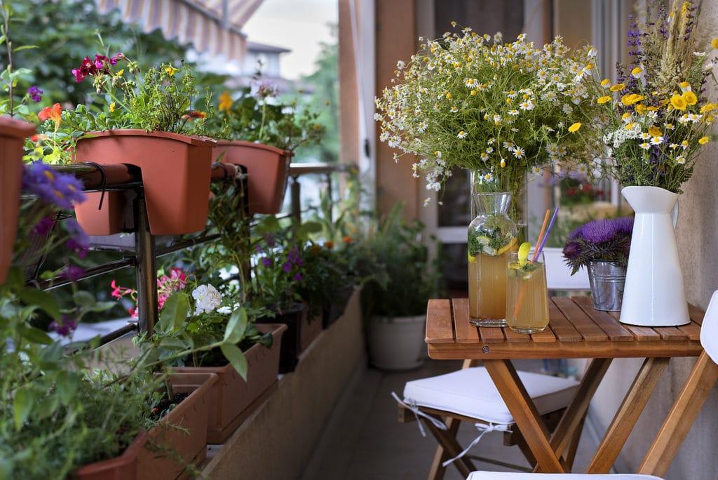 Garten Auf Dem Balkon So Machen Sie Ihren Balkon Zur Grünen