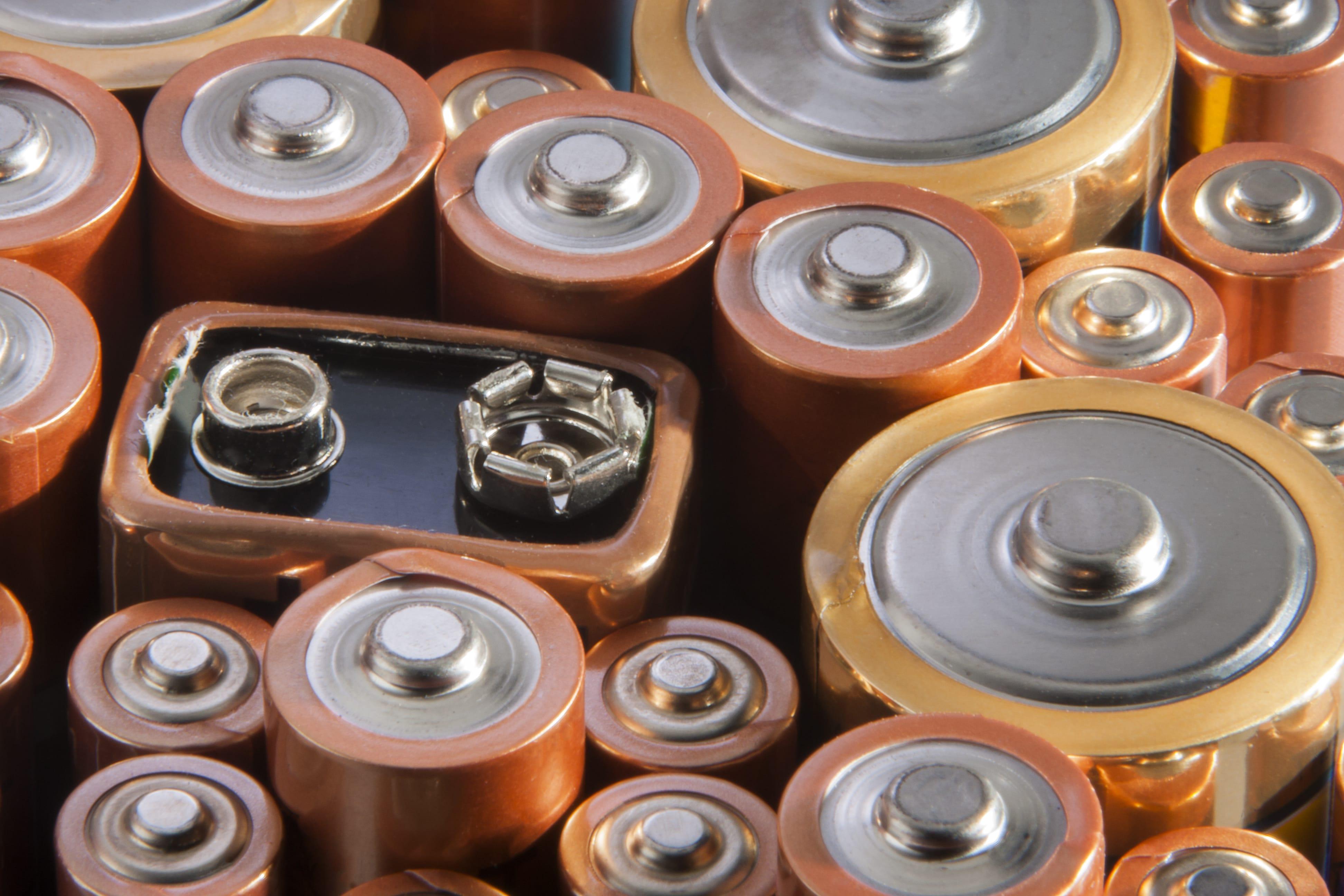Batterien richtig lagern