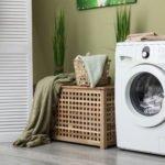 waschmaschine im waschraum