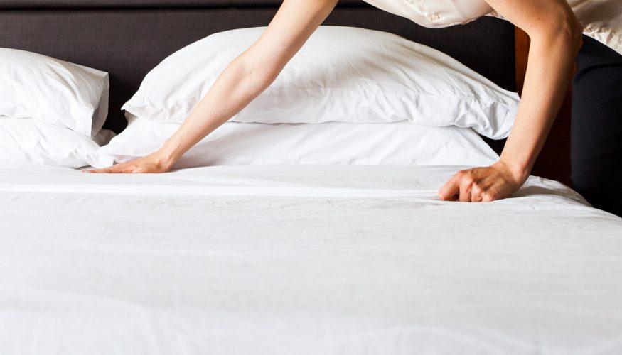 Betten machen – Darauf sollten Sie achten