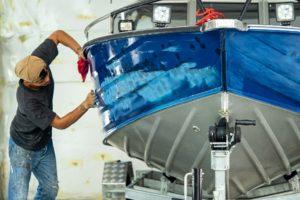 How to paint an aluminium boat