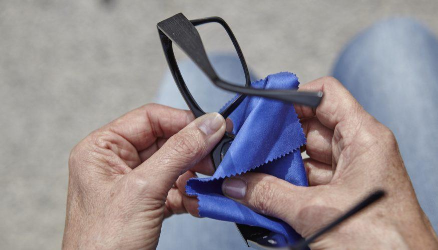 Brillenputztücher selber herstellen – 2 Tipps