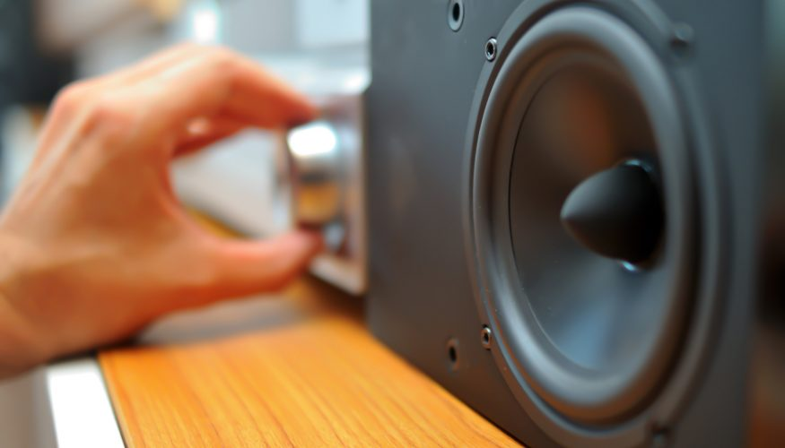 Brummende Lautsprecher reparieren