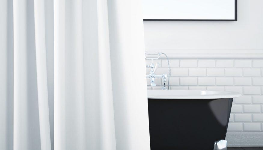 Duschvorhang reinigen – 4 Tipps
