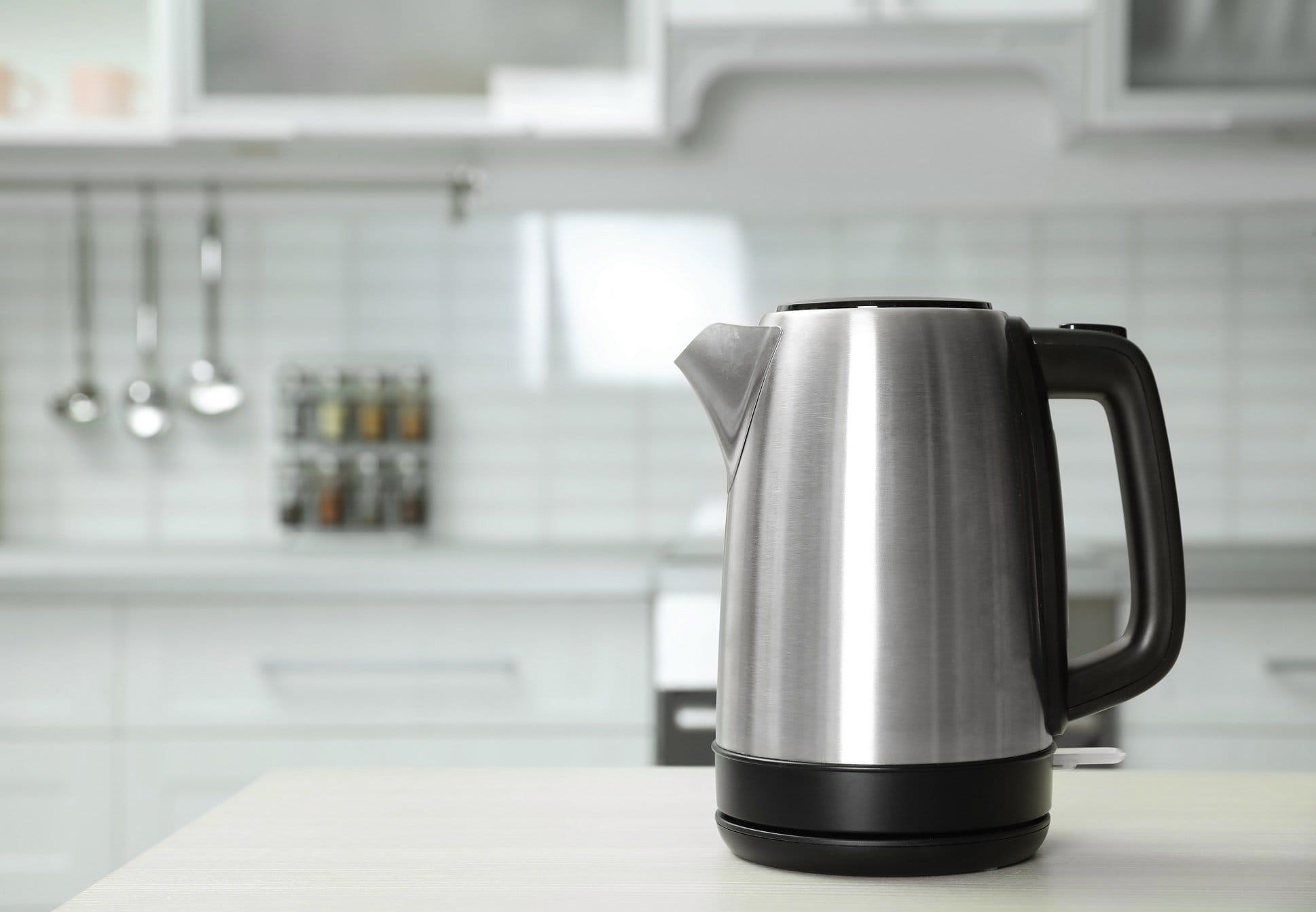 Wasserkocher aus Edelstahl reinigen 20 Hausmittel im Test