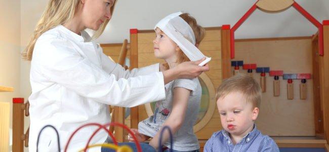 Erste Hilfe am Kind: Das sollten Sie beachten