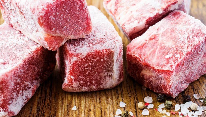 Fleisch einfrieren – 2 Regeln