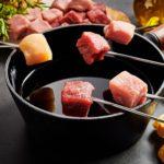 Fleischfondue mit Öl zubereiten