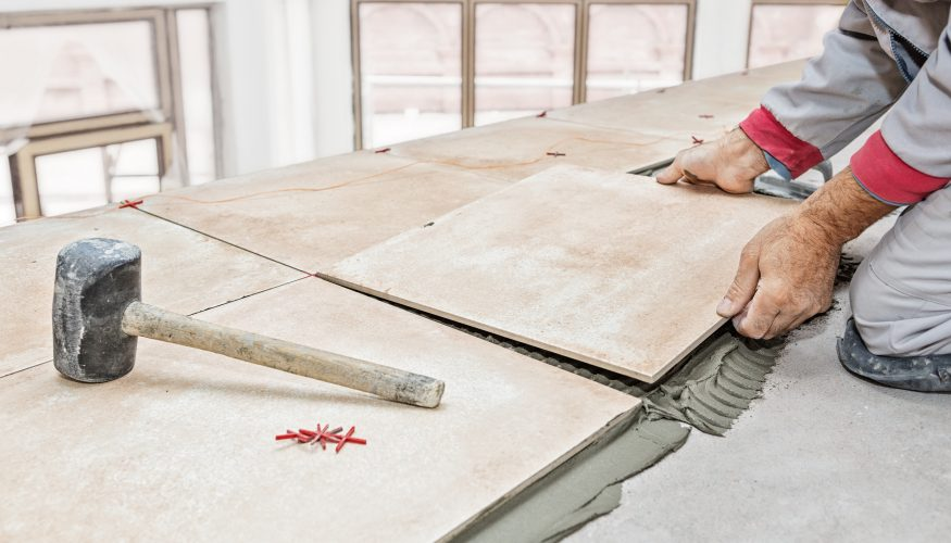 fliesen selbst verlegen anleitung und tipps f r den boden. Black Bedroom Furniture Sets. Home Design Ideas