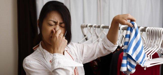 Wäsche stinkt nach dem Waschen: Das sind die Ursachen