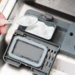 Geschirrspülmittel in Vorrichtung einer Spülmaschine