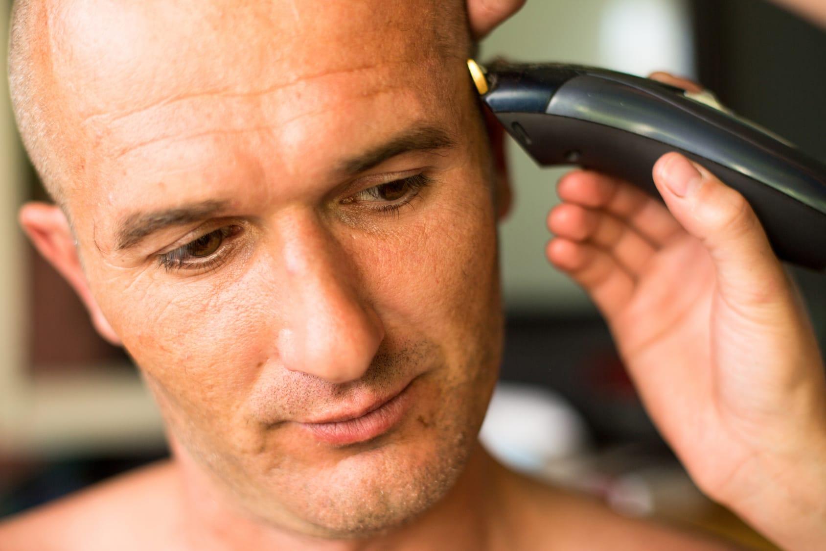 Glatze rasieren – So wird's gemacht