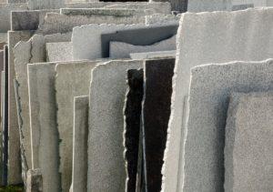 verschiedenfarbige granitplatten