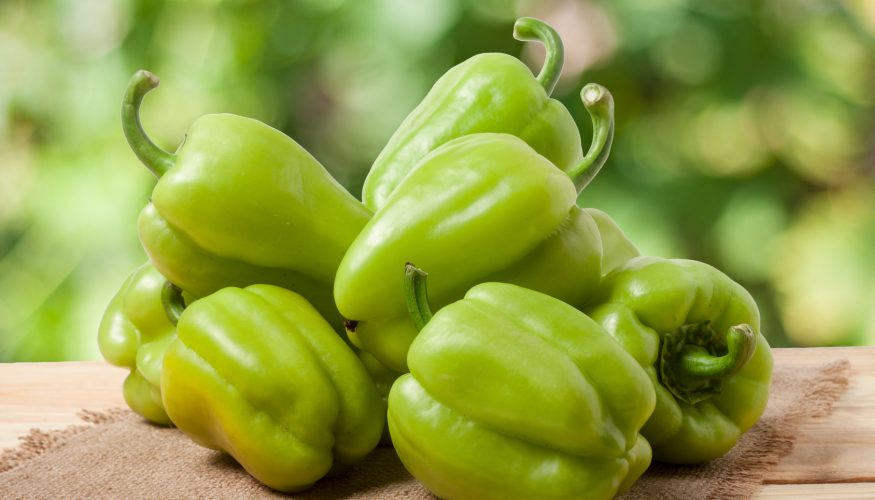 Sind grüne Paprika unreif?
