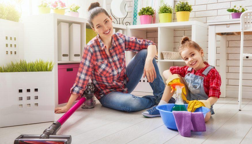 Kinder zu mehr Hausarbeit motivieren
