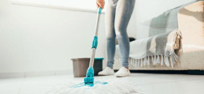 Hausarbeiten fürs Neujahr: Gereinigt im neuen Jahr starten