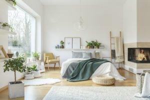 helle sSchlafzimmer