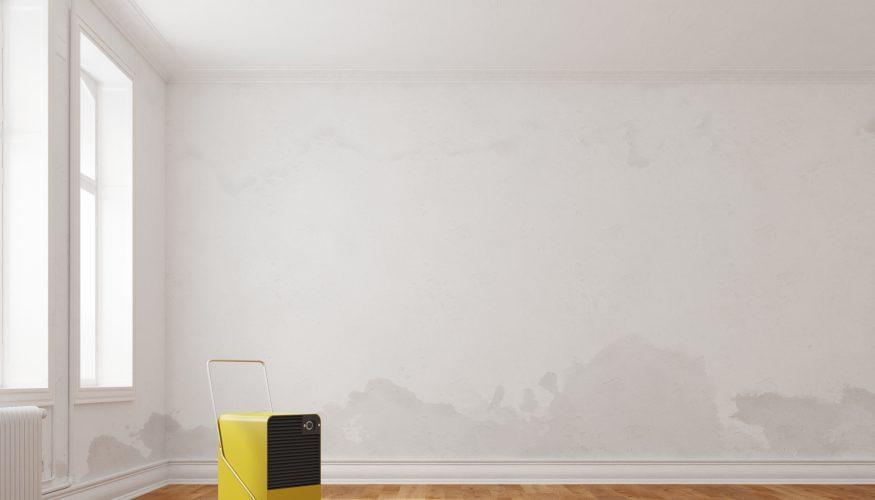 Hohe Luftfeuchtigkeit in Wohnräumen mindern