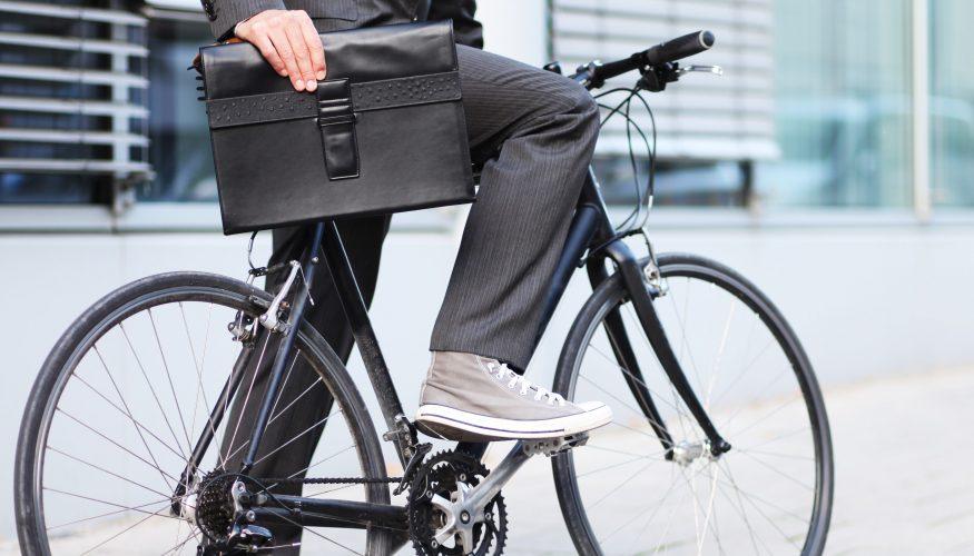 Hosenschoner gegen Schmutz von Fahrradkette