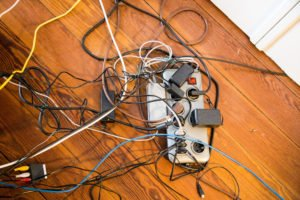 Kabel Kunstobjekt