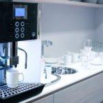 kaffeemaschine in der kueche