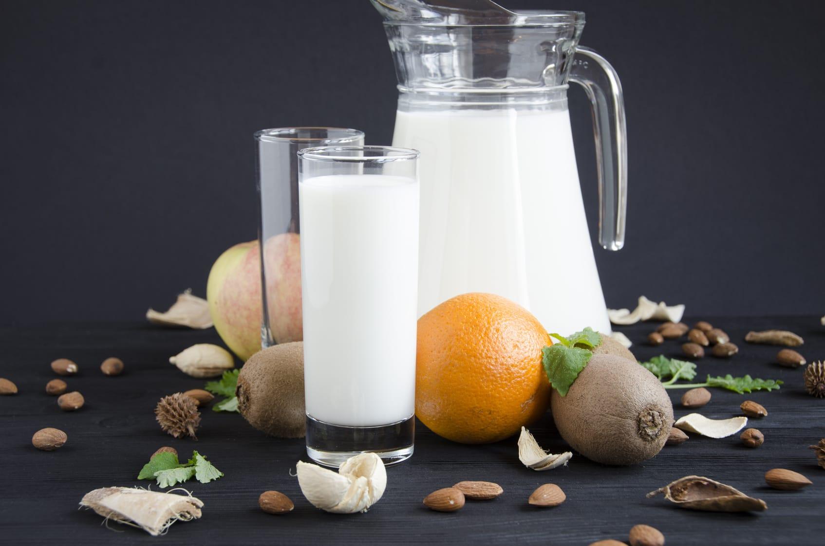 Vertragen sich Kiwis und Milch?